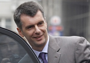 Прохоров опроверг информацию о своем возможном уходе с поста главы Правого дела