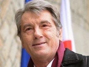 Ющенко поздравил киевское Динамо с победой в Суперкубке