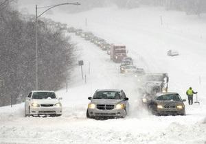 Новости Тернополя - новости Львова - непогода - Запад Украины - Снегопады на Западе Украины. Люди массово запасаются спичками и хлебом