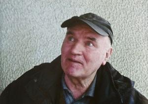 Младич посетил могилу дочери