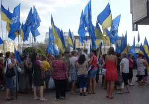 Мы можем петь колыбельные на русском: в Харькове регионалы проводят праздничный митинг