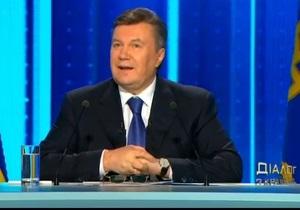 Янукович насчитал за годы своего президентства рост зарплат на 158% и пенсий - на 44%