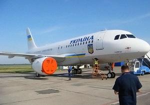 СМИ: Новый самолет Януковича отделан золотом и мрамором