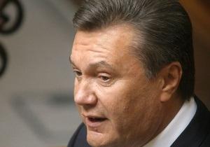 Янукович пообещал всячески содействовать свободе слова в Украине