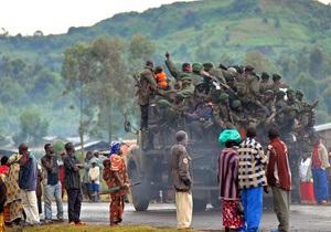 Более сотни повстанцев убиты правительственными войсками в ДР Конго