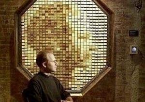 Художник Дэнни Розин создал деревянное зеркало