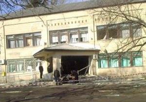 В Знаменке Кировоградской области в поликлинике произошел взрыв