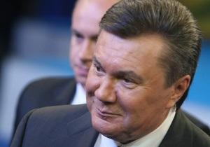 Янукович: Слияние Нафтогаза и Газпрома возможно после пересмотра газовых контрактов