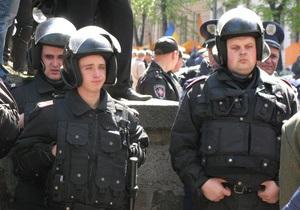 Милиция объяснила, что задержала троих участников митинга по подозрению в ограблении банка