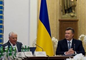 Кравчук: Янукович создал языковую комиссию