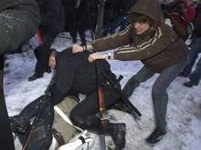 Фотогалерея: Спецназ наступает на демократию в Беларуси