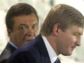 Янукович: Наши отношения с Ахметовым ничто не разрушит
