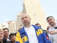 Турчинов считает незаконным созданный Ющенко конституционный совет
