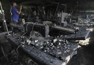 Пожар в Бангладеш, унесший жизни более 110 человек, устроила женщина