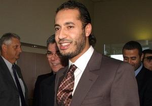 Интерпол выдал ордер на арест еще одного сына Каддафи