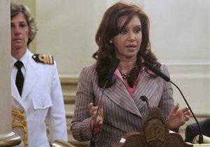 У президента Аргентины украли деньги на поездку в ближневосточное турне