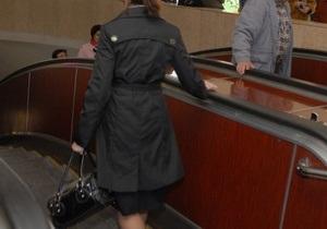 В киевском метро установили поручни для пассажиров с ограниченными физическими возможностями