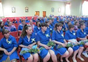 В Качановской колонии прозвенел последний звонок для выпускниц