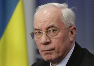 Азаров: Российские телеканалы  не совсем объективно  освещают ситуацию в Украине