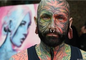 Фотогалерея: Татуированные всех стран объединились в Лондоне