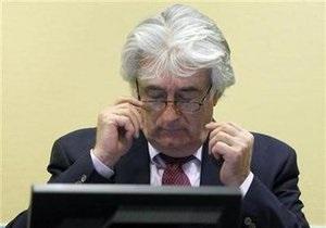 В Гааге начался допрос свидетелей по делу Караджича