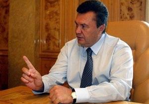 Янукович: Сотрудничество с Китаем - это пропаганда Украины
