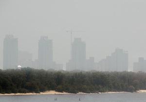 СЭС заявила, что уровень загрязненности воздуха в Киеве не превышает норму