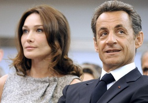 Сын регионала купил у Карлы Бруни и Николя Саркози бочку вина за 270 тысяч евро