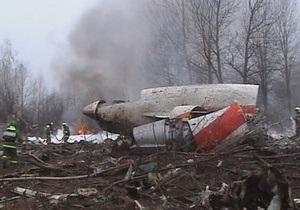 Польская прокуратура опровергла информацию о следах взрывчатки на обломках самолета Качиньского