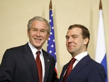 Буш и Медведев сообща выступили против ядерного терроризма