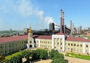 На одном из крупнейших в Украине коксохимических заводов произошел пожар