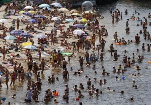 Минздрав: В Украине работают 72,4% пляжей