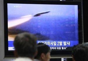 КНДР провела испытание ракеты ближнего радиуса действия