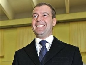 Президентство принесло Медведеву заработок в $120 тыс.
