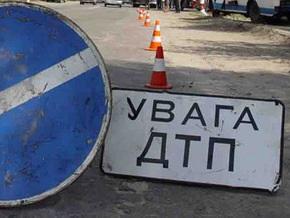 В центре Киева в ДТП погиб один человек и четверо травмированы