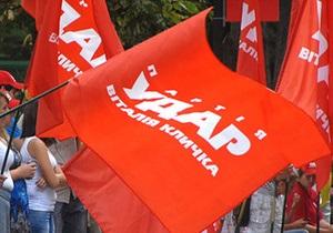 В УДАРе заявляют, что не пойдут на создание коалиции с ПР или ее сателлитами