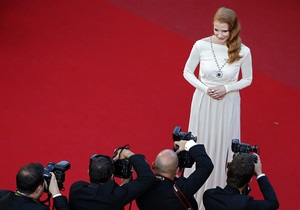 Джессика Честейн надела на Каннский фестиваль бриллиантовое ожерелье Элизабет Тейлор