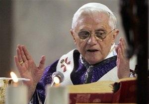 Богослужение Папы Римского в Великобритании будет платным