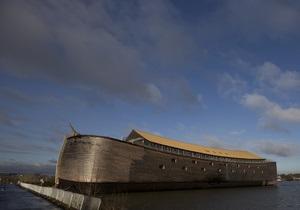 Голландец построил Ноев ковчег в натуральную величину
