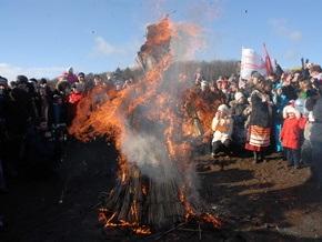 Фотогалерея: Как киевляне Масленицу праздновали