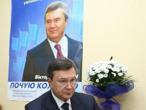 Янукович: Никакого плана о замене Тимошенко на Азарова не существует