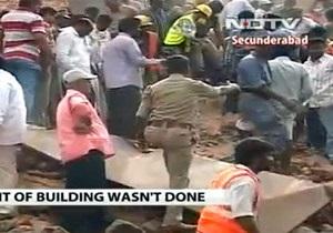 Индия - В Индии обрушилось здание гостиницы, есть жертвы