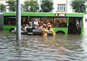 Гомель затопило
