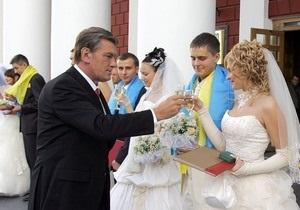 Украинцы стали реже разводиться