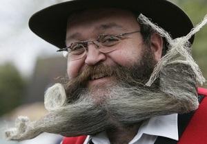 Житель Германии стал обладателем лучшей бороды в мире