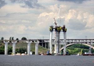 Кабмин выделил 450 млн грн на строительство двух мостов в Запорожье