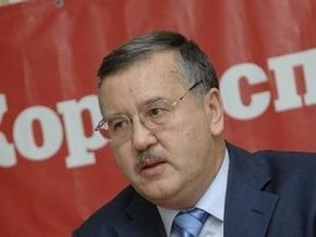Гриценко: Ющенко, Тимошенко и Янукович боятся сокращать бюджет из-за выборов