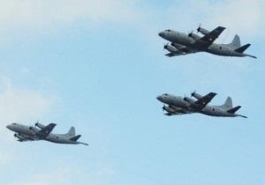 Американские самолеты-шпионы следят за китайскими кораблями