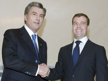 Ющенко предлагают общаться с Медведевым через переводчика