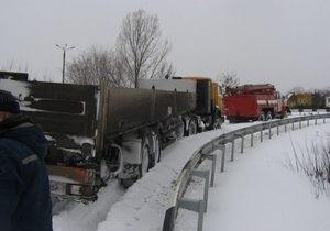 Донецкая область оказалась в плену стихии: проезд к 211-ти населенным пунктам затруднен